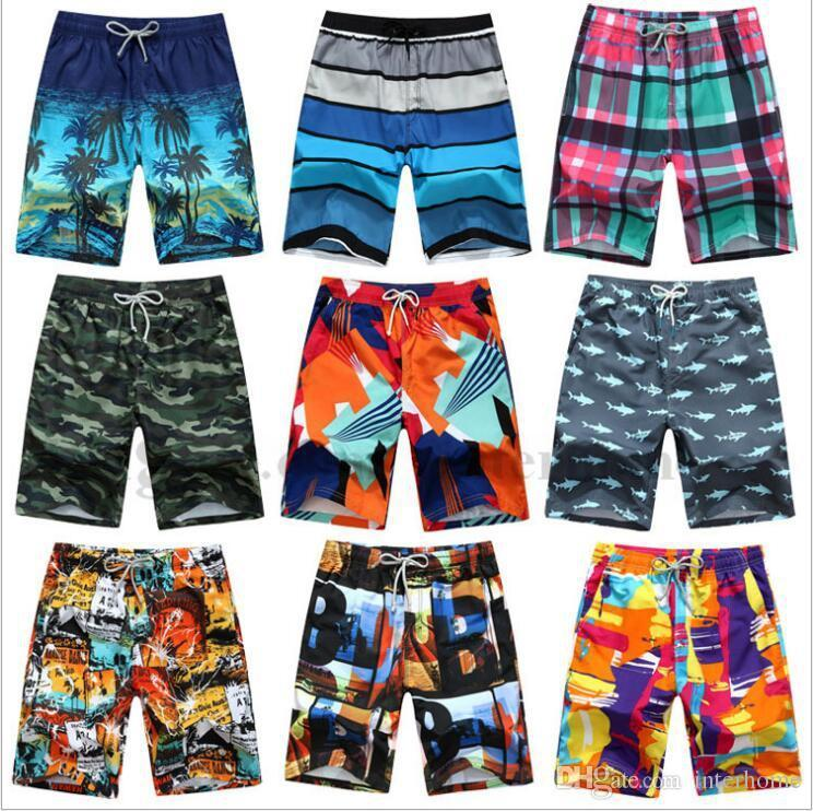 Man Quick Dry Boardshorts Summer Board Shorts Fashion Surf Shorts Men Beach  Shorts Outdoor Beach Pants Sports Short Pants Beachwear B1678