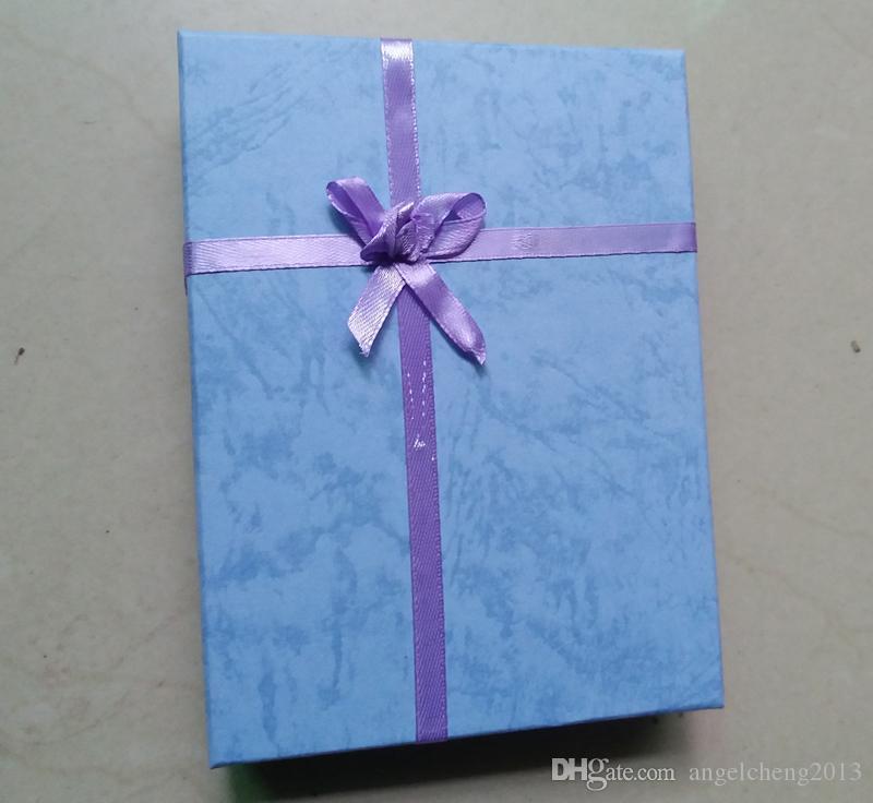 16cm * 12cm * 3cm 패킹 부대 전시 상자, 보석 상자, 반지 팔찌, Bangle 목걸이 상자, 선물 상자, / 무작위 색깔을 위해