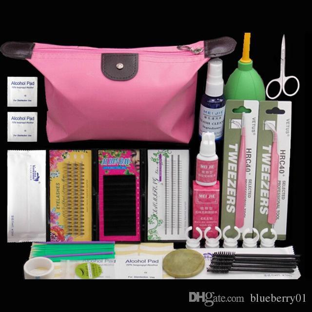 Professional Eyelashes Extension Curler Kit False Eyelash Lashes