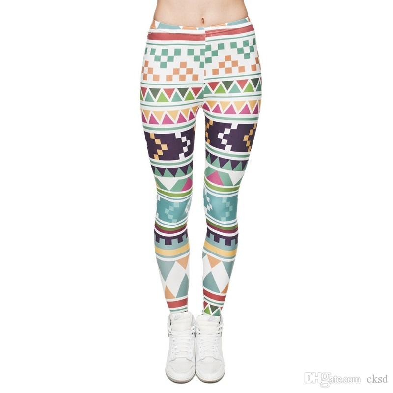 Fashion 3D Sex Digital Full Print Leggins For Women Girl Stretchy Leggings Pants Elastic Tight fitting Slim Fit Pencil Pants LWDK5-08 WRF