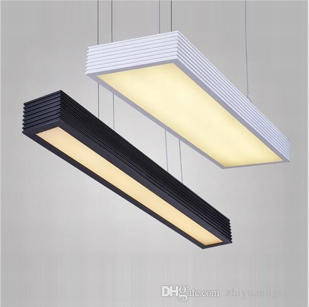 Modern led pendant lights office study room rectangle suspended modern led pendant lights office study room rectangle suspended pendant lights chandelier decoration fashion led pendant light fixtures lights for home aloadofball Gallery