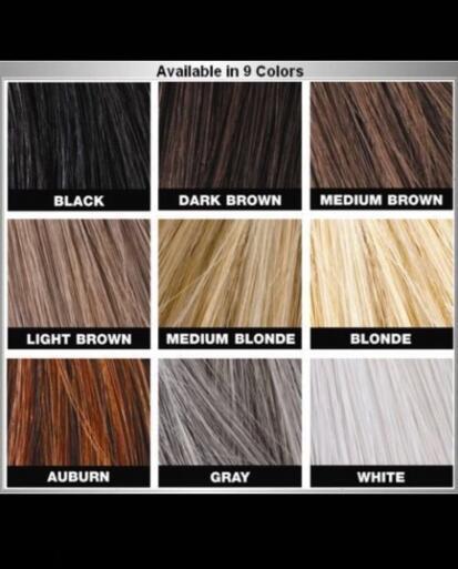 27.5g Toppik Hair Building Fibers Keratin Powder Hair Fiber Loss Concealer Thickening