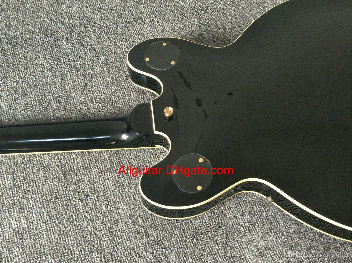 2017 new brand guitar black BBKING guitar electric guitar in stock China guitars