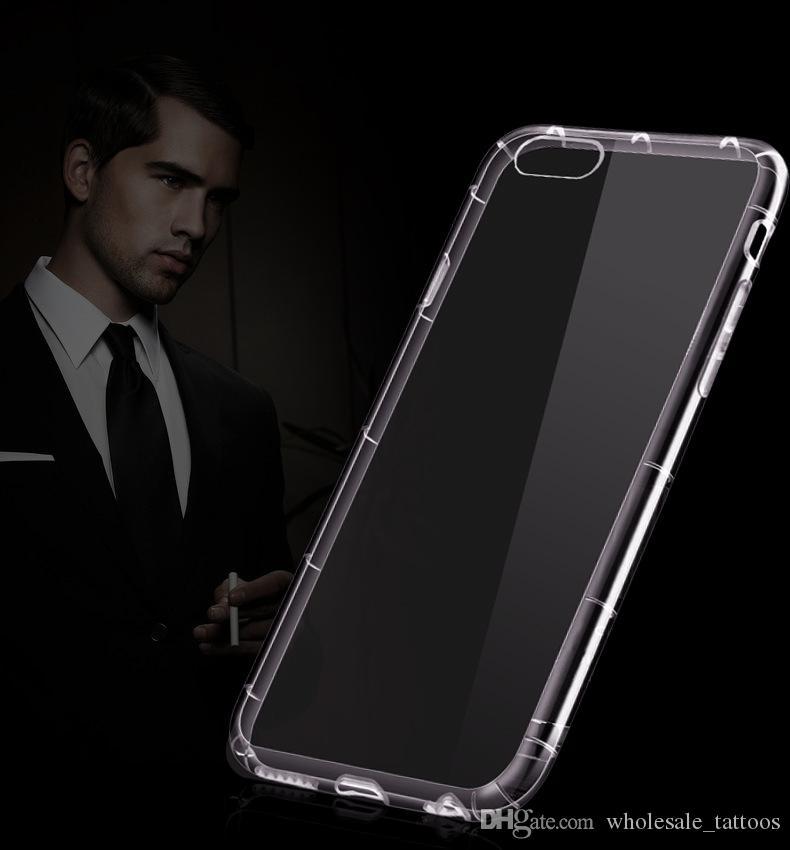Motorola Moto G5 G5 Inoltre Samsung Galaxy J3 primo metropolitana S8 PLUS J3 Emerge J327P LG G6 Stylo 3 ls777 Stylus 3 HTC U11 armatura di caso della copertura di TPU
