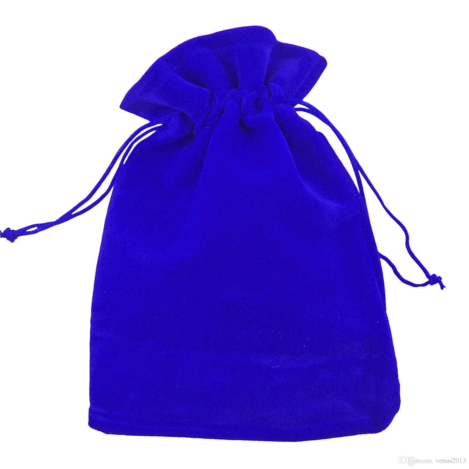 مختلط فاخر المخملية مجوهرات الرباط حفل زفاف لصالح الحقائب حقائب هدية