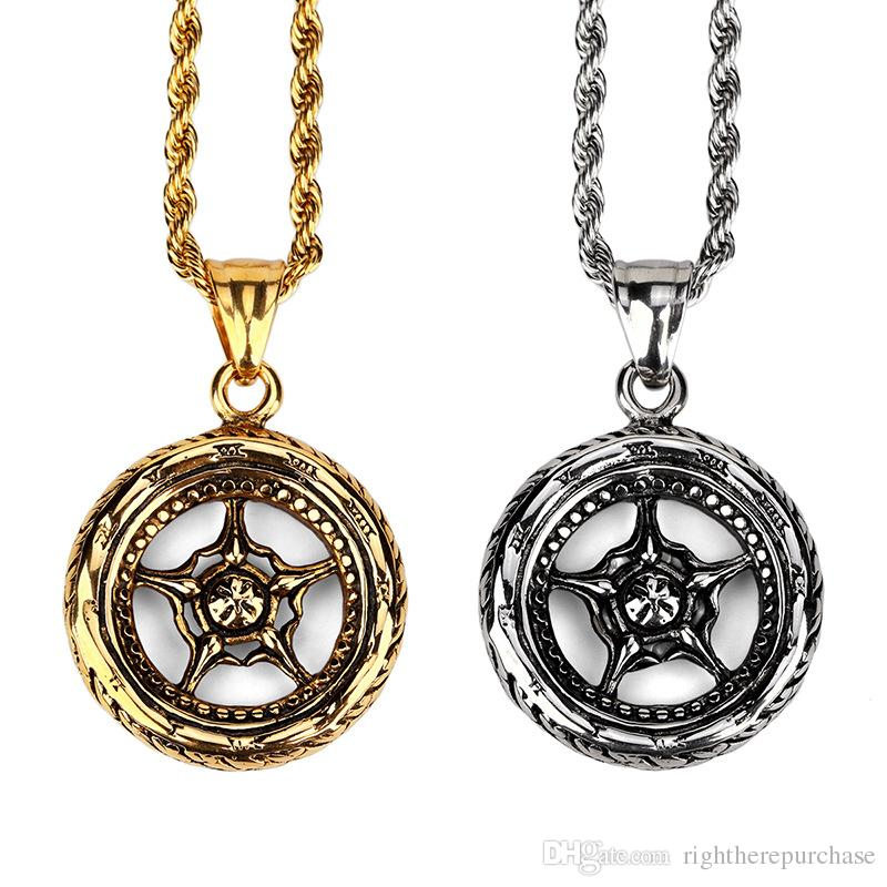 gifts long chain color jewelry size products gothic necklace brand gold male giftssize men