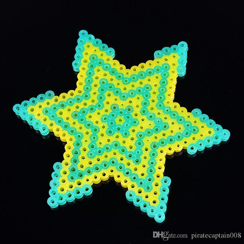 Wholesale 13000Pc For One Box Set Hama Beads 2 6MM Perler Beads 24 Colors  DIY Creative Puzzles Tangram Jigsaw Board Baby Kid Educational Toy