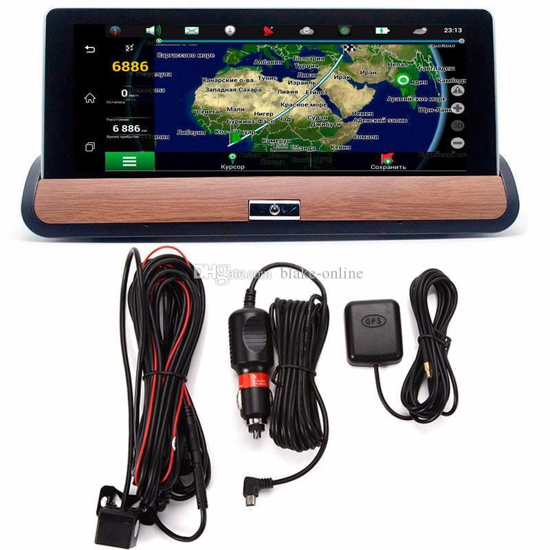 7 Inch Full HD 1080P 3G Wifi WIFI Rearview Camera Android 5.0 Car DVR GPS G-Sensor 16GB Bluetooth Dual Lens Navigation System