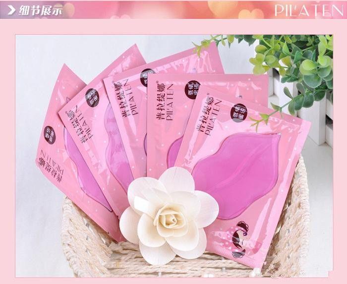 PILATEN Authorized Collagen Crystal Lips Mask Moisturizing Anti-Aging Anti-Wrinkle Lip Care DHL