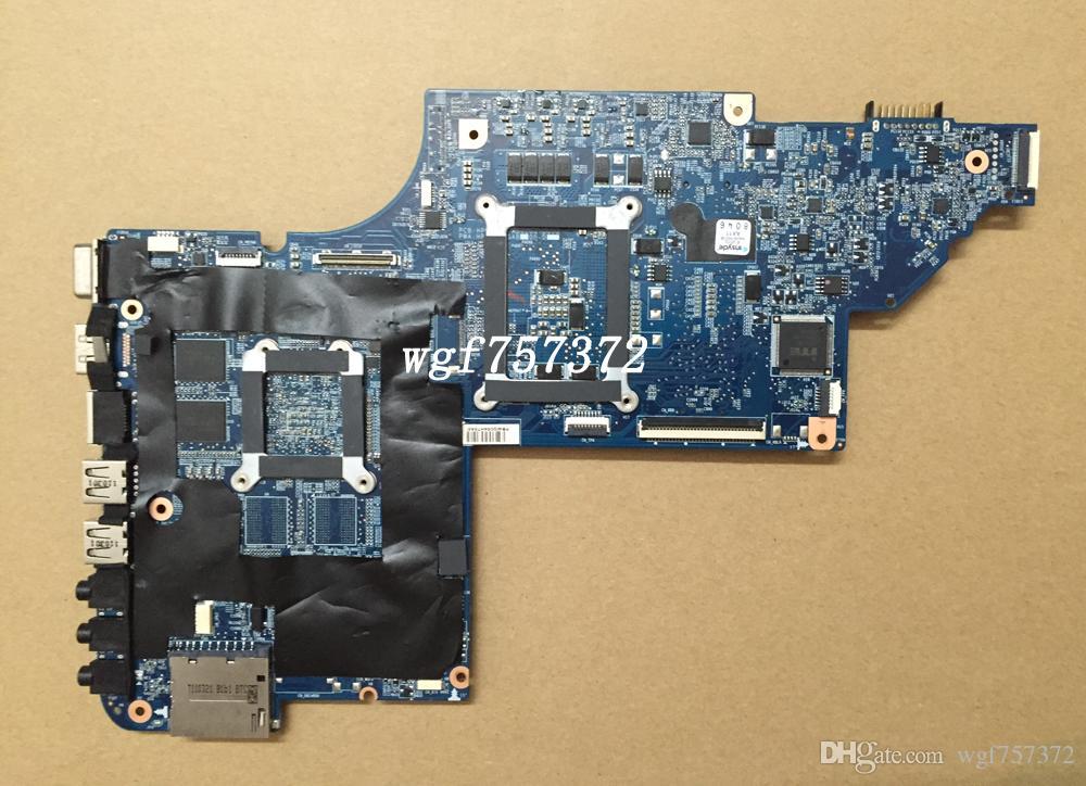 Para HP Pavilion DV6 DV6-6000 placa madre del ordenador portátil 641486-001 intel HM65 s989 DDR3 Notebook Systemboard