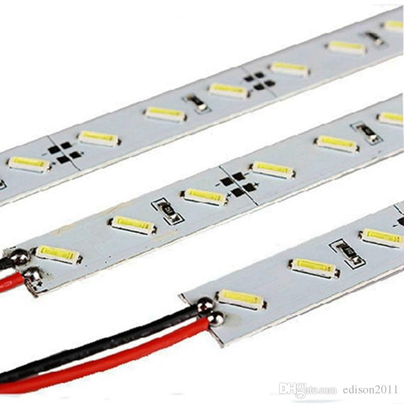 Edison2011 Super Brilhante Duro Rígido Bar luz DC12V 100 cm 72led SMD 7020 Liga De Alumínio Levou luz de Tira Para Gabinete Jóias Exibição Livre DHL
