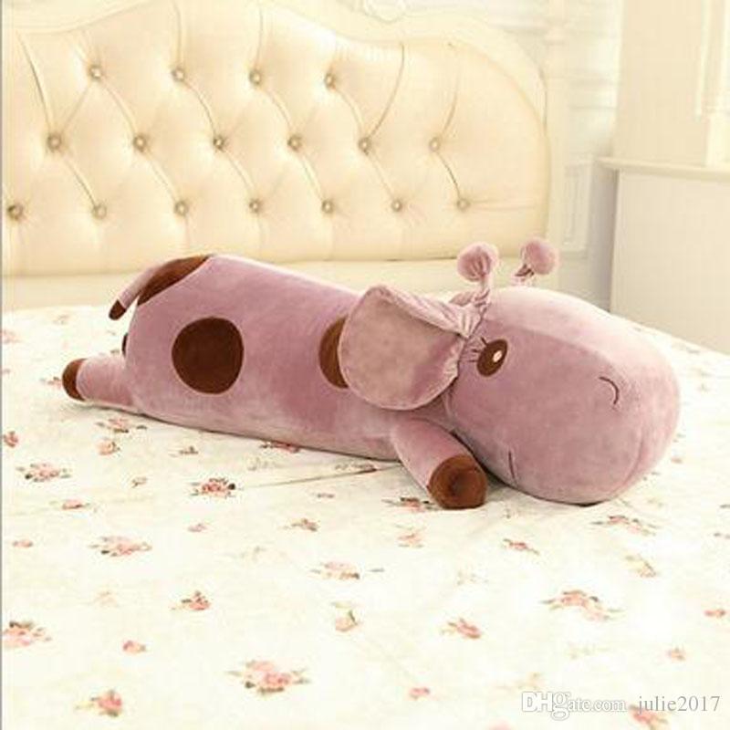 Colorful giraffe plush kids toys stuffed animals children's pillow birthday presents Soft pillow Christmas gifts