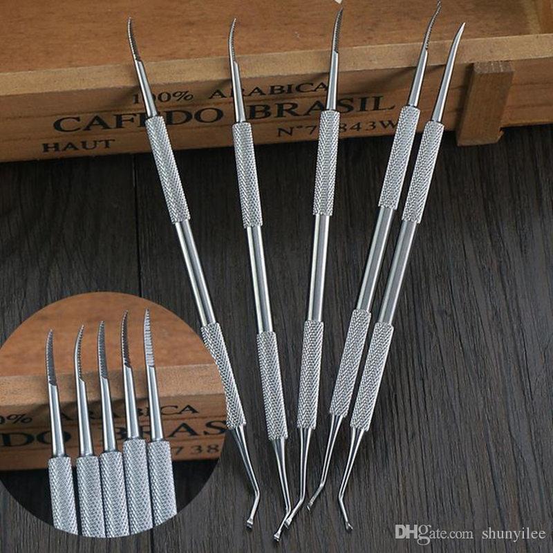 Professional Ingrown Toe Nail Correction Tool Pedicure Tool Foot Nail Hook Stainless Steel Nail Tools F20171411