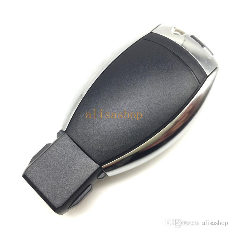 Высокое качество 3 кнопки дистанционного ключа автомобиля чехол с лезвия и логотип для Benz европейский стиль