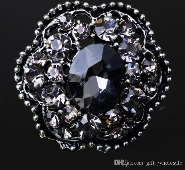 High Quality Classic Snap Button Mixed Metal Rhinestone 20mm For Noosa Bracelets DIY Variety Jewelry Charms Christmas Gift