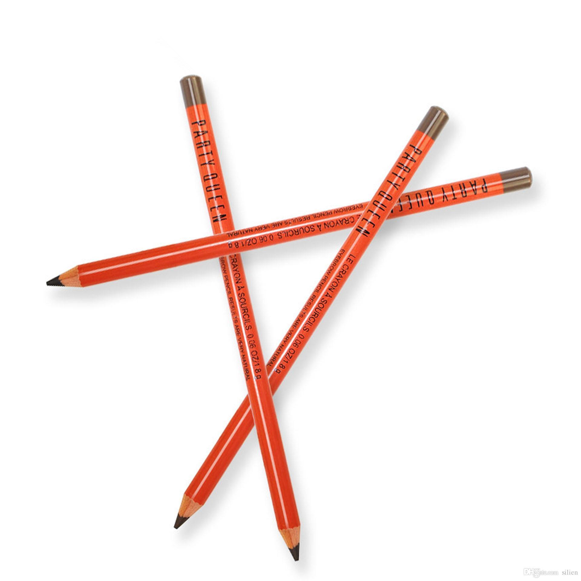 Wholesale-/ Party Queen Crayon à Sourcils Imperméable Durable Professionnel Naturellement Vente en gros au plus bas prix Livraison gratuite