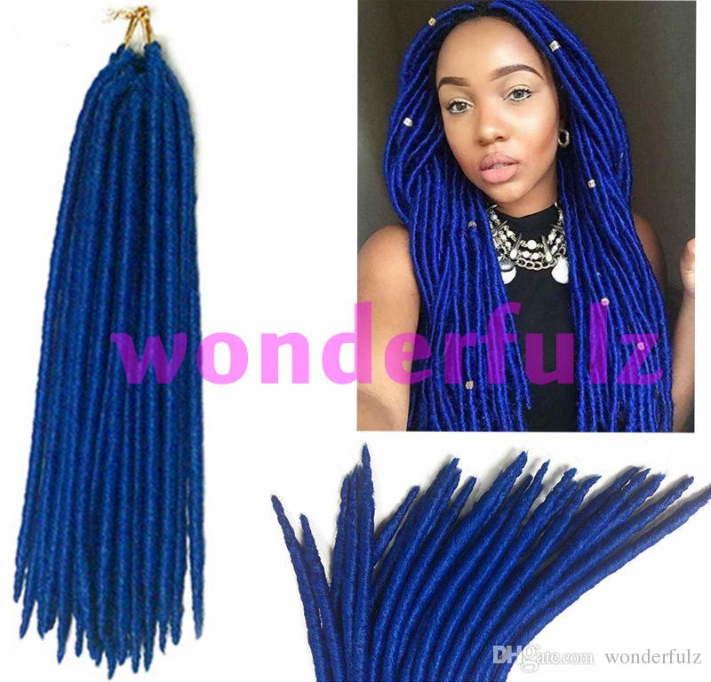 African American Hair Dreadlock Extensions Crochet Braid Hair