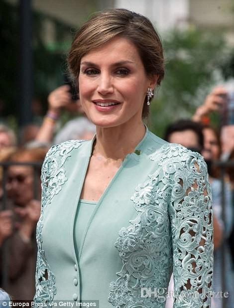 Элегантный мятно-зеленый мать невесты платья костюмы с длинным жакетом длиной до колен кружева плюс размер свадебные вечерние платья знаменитости платье