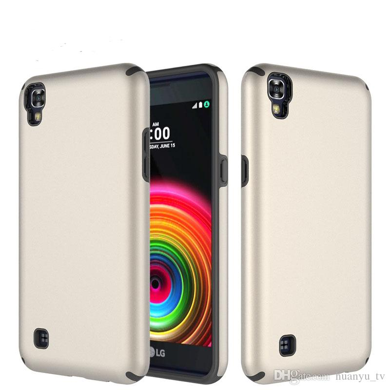 Armor Phone Case For ZTE MAX XL/N9136/Avid Trio TPU+PC Double Color Fall  Shockproof Cover Phone Protective Shell Hot Sale