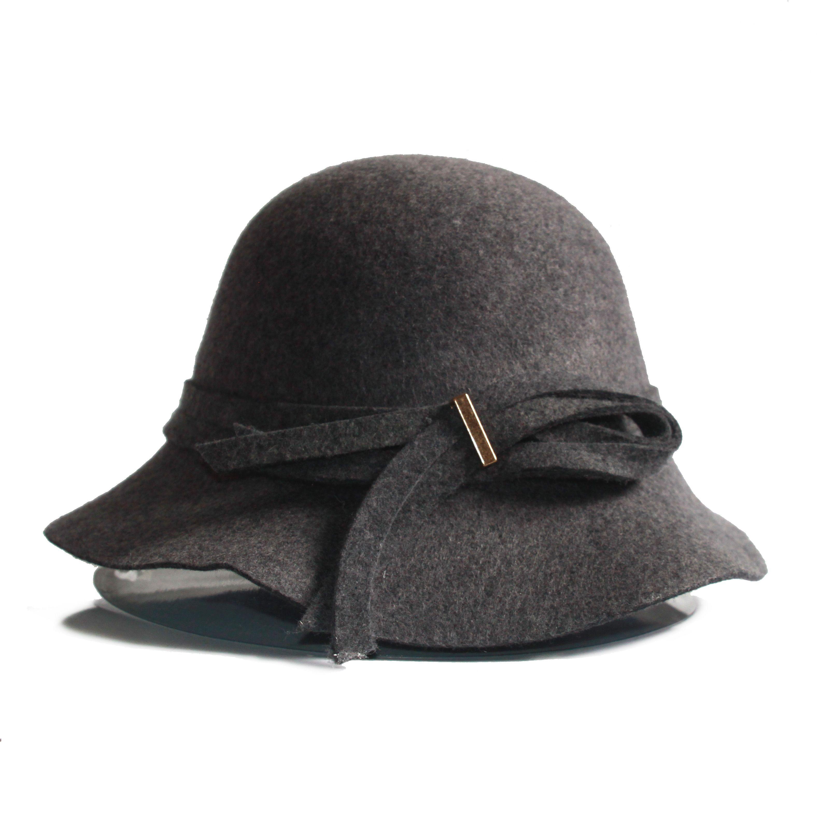 Compre Sombrero De Fieltro De Lana De 100% Para Mujeres A  25.82 Del  Joyce11  6a20a0f13bf
