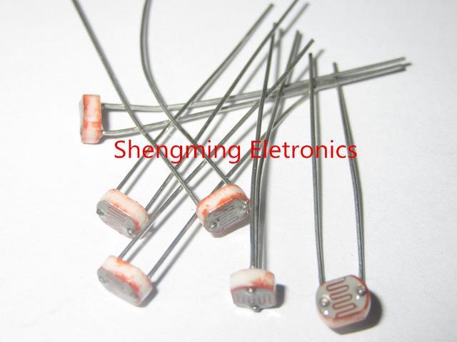 2018 Wholesale 5537 Gl5537 Light Dependent Resistor Ldr 5mm ...