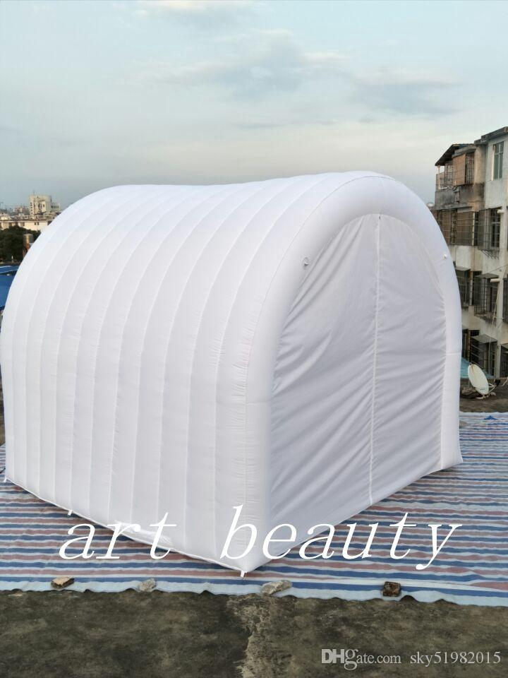 2017 white high quality yard tunnel inflatable dome tent for party event tent