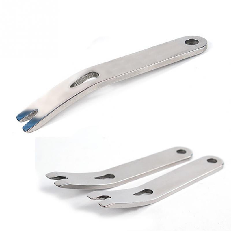 Tragbare Edelstahl EDC Getriebe Kurbel Crowbar Stemmeisen Keychain Survival Scraper Multi Tool - 4 Farbe