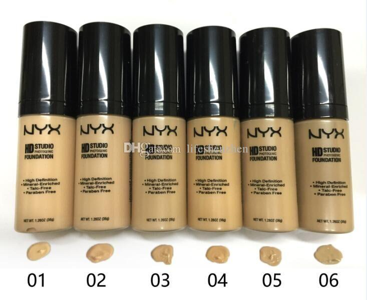 2016 Makeup NYX HD STUDIO PHOTOGENIC face FOUNDATION 36g HOT NEW DHL