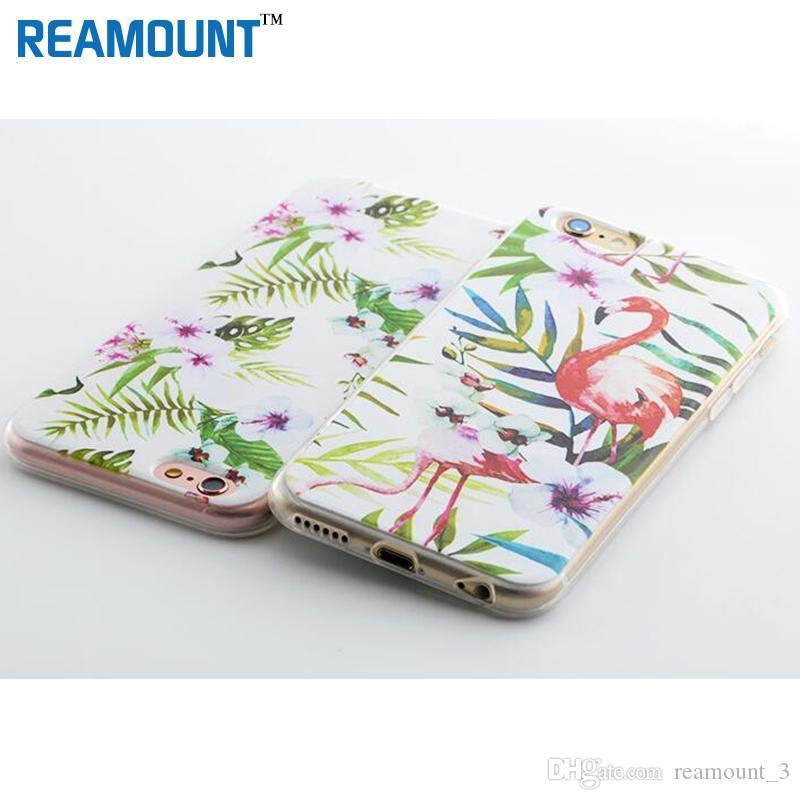 Custom Design DIY Transparente TPU Case Cover For iPhone 7 plus 6s 5s 7 6plus Customized Printing Cell Phone Case