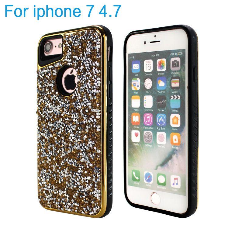 buy popular d8d0c 6bbdf For Samsung Galaxy J3 Prime Luxury Bling Glitter Phone Cover Case For J7  Prime ,Electroplate Bumper Sparkling Case For LG K20 Plus LV5