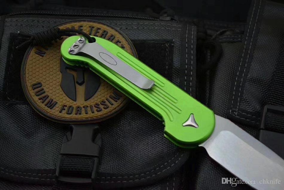 MT LUDT 5391 cuchillo plegable D2 cuchilla 6061-T6 mango de aleación de Aluminio caza camping al aire libre cocina de frutas Cuchillos herramienta EDC