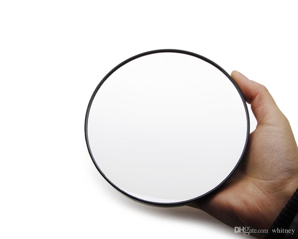 NUEVO GRAN TAMAÑO espejo espejo de aumento 10 x magnificación primer plano de contacto nuevas lentes componen el 13CM de succión / 5,2 pulg