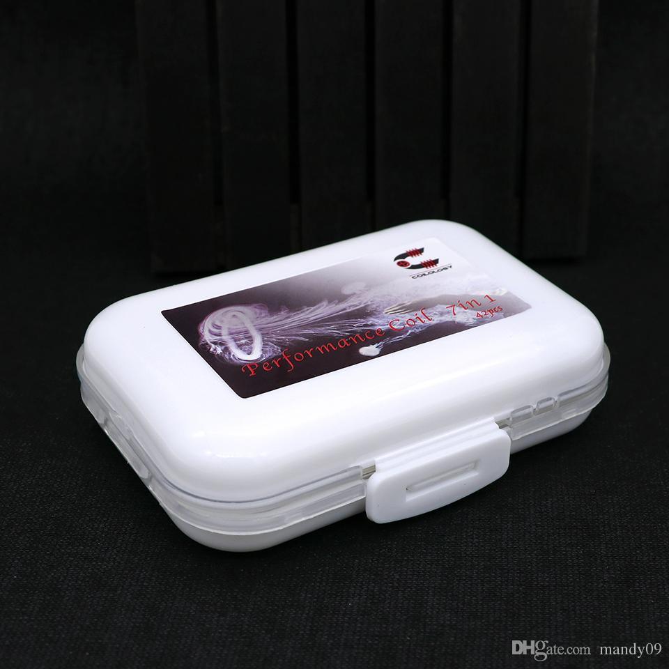 Pre Built Diy Wire Coilology Fused Clapton Premade Coil /Tri Core ...