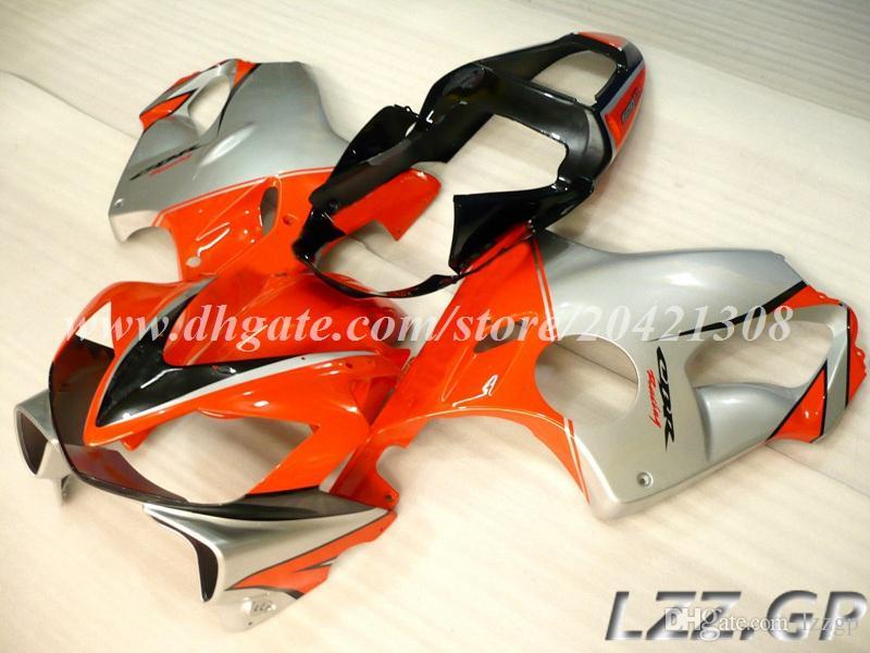 kit carena + regali Honda CBR600F4i 2001 2002 2003 CBR600F4i 01 02 03 CBR600 F4i 2001-2003 2002 carene iniezione # m8w28 arancione