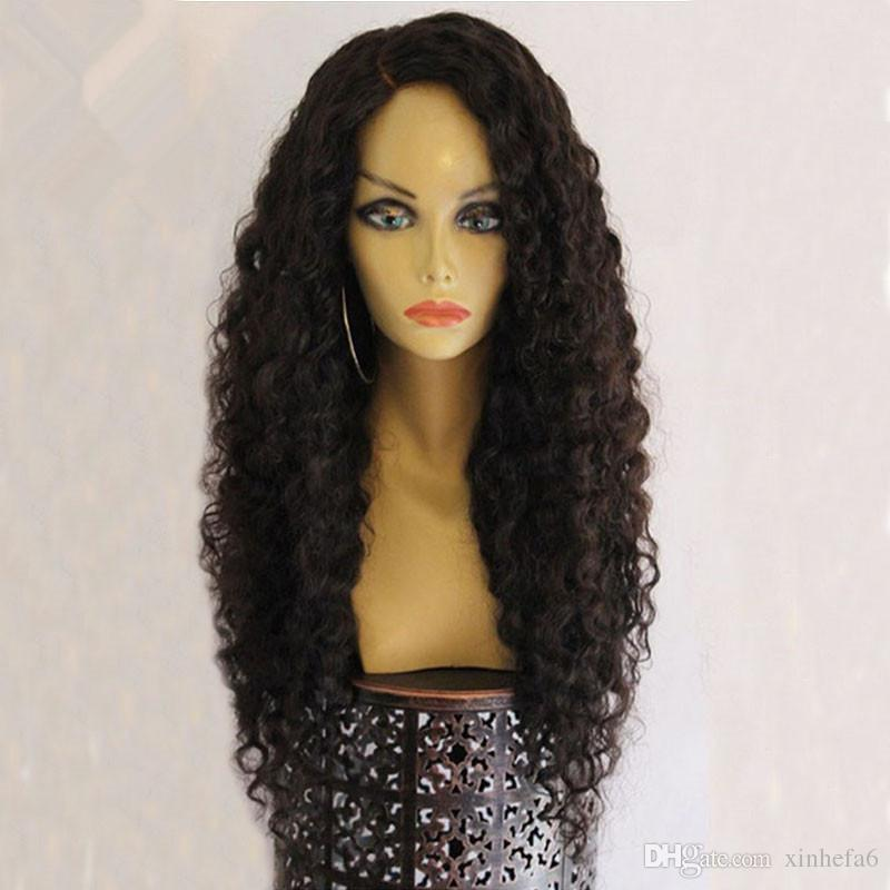 Water Wave Full Lace Human Hair Wigs For Black Women Wet Wavy Front Lace Wigs with Baby Hair Natural Color 8-26Inches