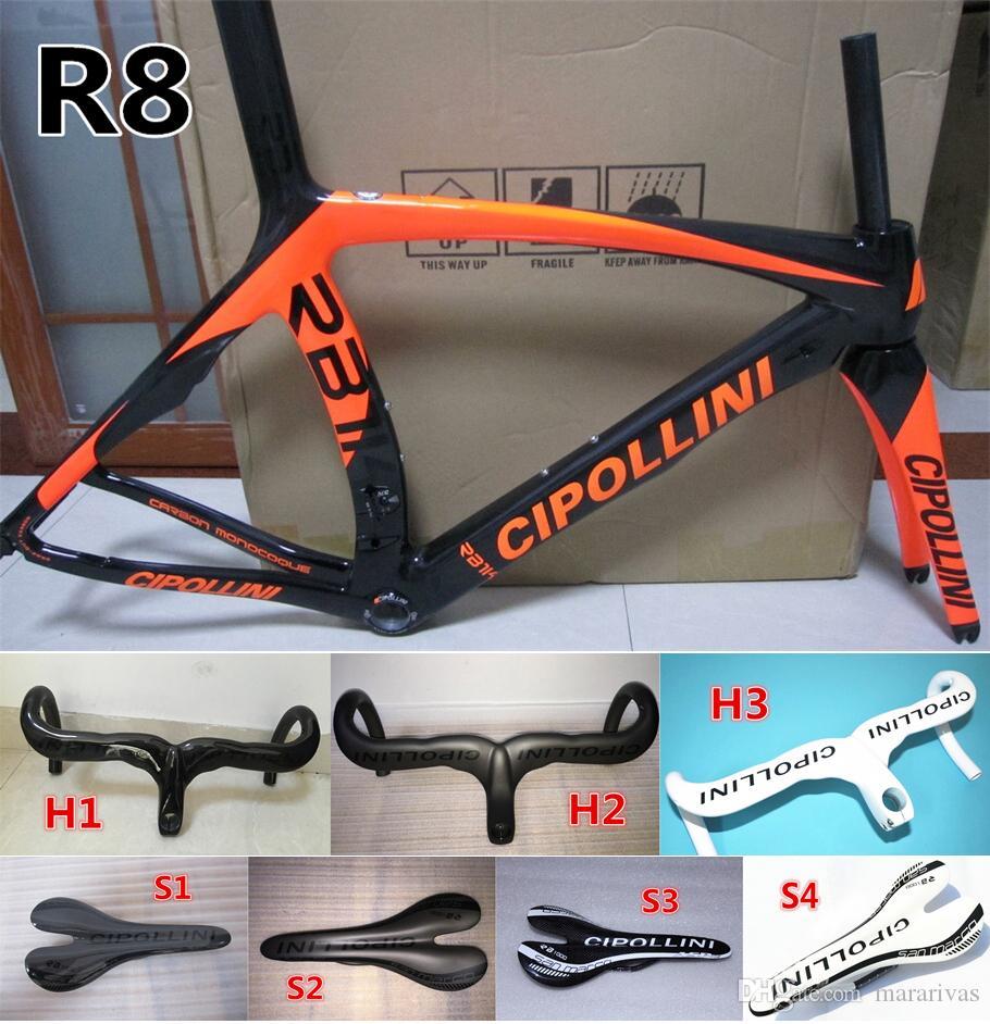 Model Orange Black Carbon Bicycle Frame 3k Glossy Matte Finish Rb1k ...