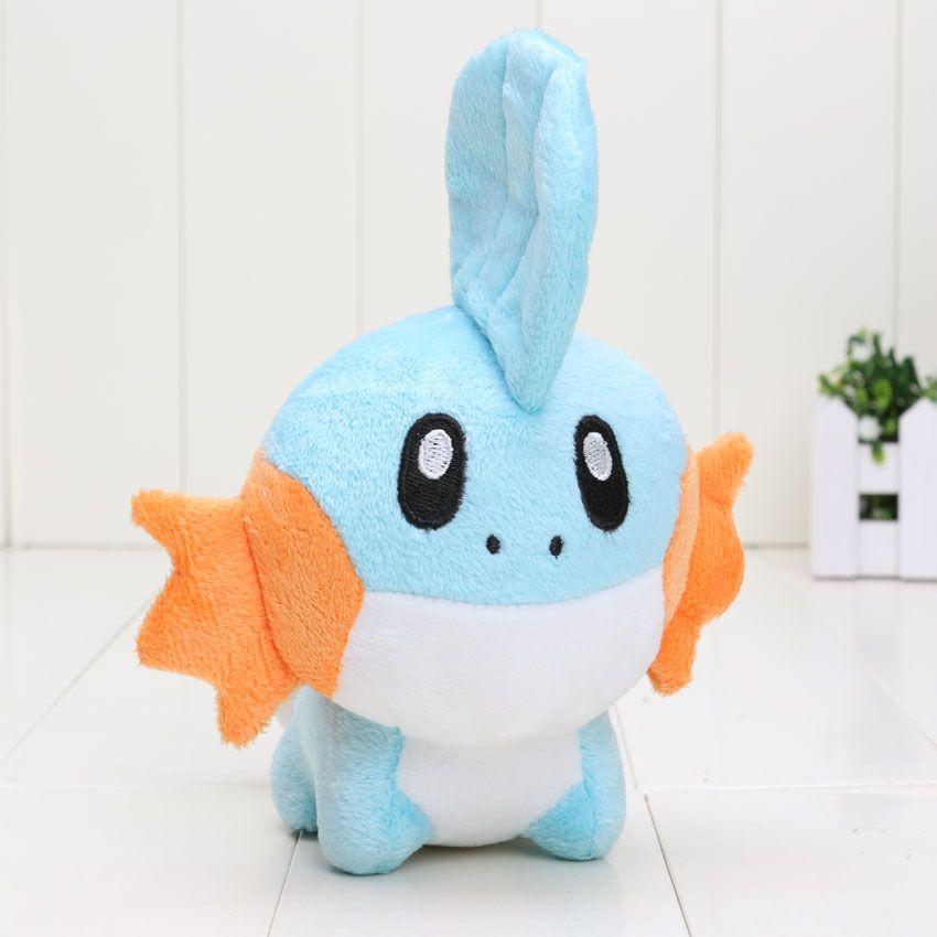 15cm Pikachu Cute Blue Mudkip Plush Toy Soft Stuffed Animals Dolls for children