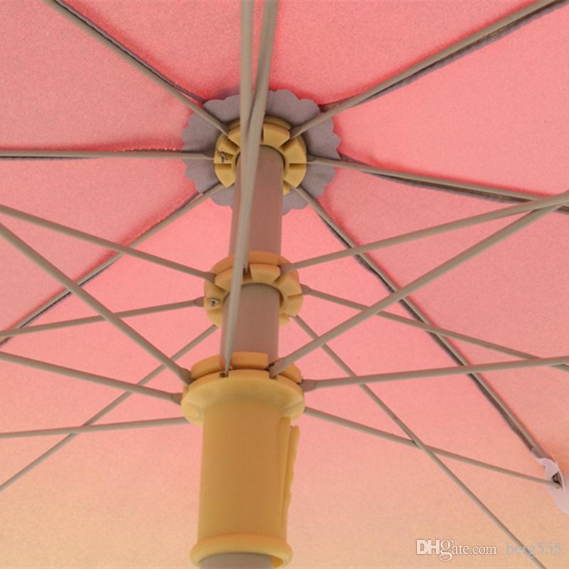 52 en Metal Redondo Jardín Parasol Canopy Patio Sombrilla Terraza Paraguas Crank Inclinación Con 28L Plástico Tanque de Agua Roja Servicio de Impresión Personalizado