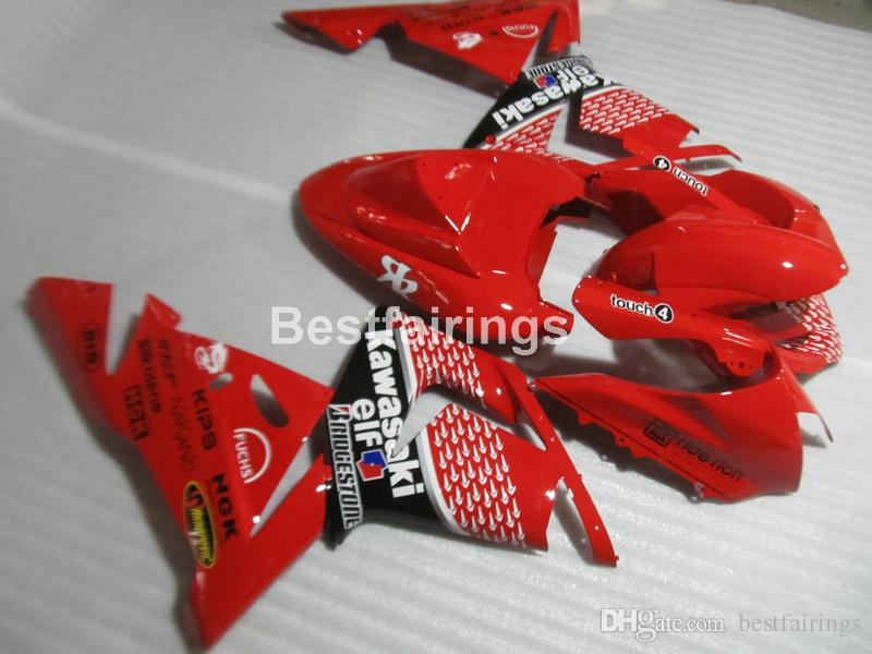 Lower Price Moto Parts Fairing Kit For Kawasaki Ninja Zx10r 04 05