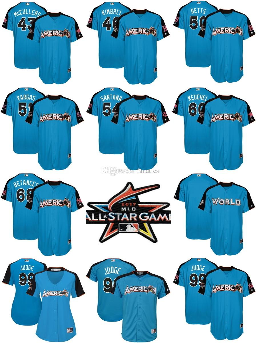 aa802bd80 All Stitched Embroidery Baseball Jersey Mens Majestic New York Yankees 99  Aaron Judge Men Lady Kid American League Blue 99 Aaron Judge 68 Dellin  Betances ...