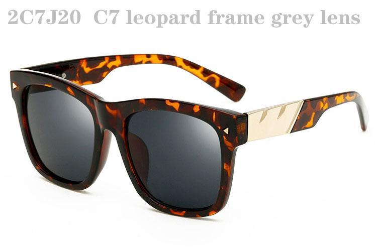 Occhiali da sole gli uomini Donne Moda Occhiali da sole da donna Retro occhiali da sole da uomo Occhiali da sole oversize Occhiali da sole Trendy Specchio Designer Sunglasses 2C7J20