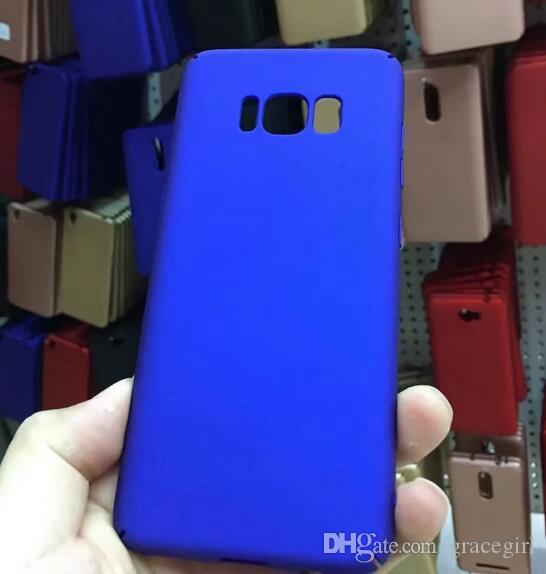 Matte Rubberized Hard Oil PC Case For Samsung Galaxy S8 Plus S7 S6 Edge 2017 A3 A5 A7 J3 J5 J7 Prime Housing Back Cell Phone Skin Cover