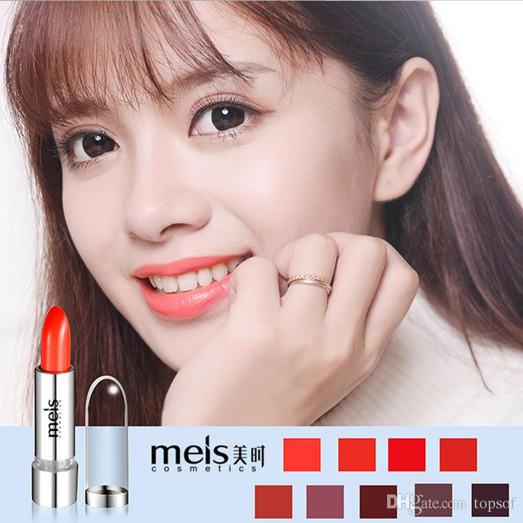 Exclusive! HOT New Long-lasting Waterproof Makeup Lipstick Brand Lightres Frost Lipstick Japan Easy to Wear Lipstick 13g gift