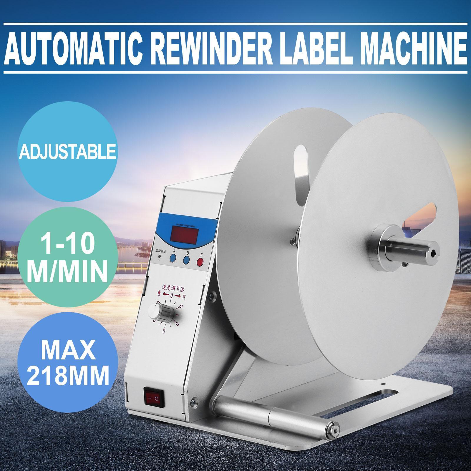 2018 Label Rewinder Machine Automatic Label Rewinder Speed ...