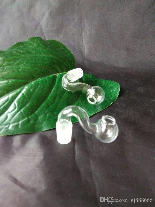 Büyük köpük mini tencere cam bong aksesuarları, Cam Sigara Borular renkli mini çok renkler El Borular En Iyi Kaşık glas