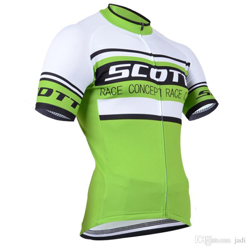 2017 NEW Scott Cycling jerseys Men short style bike Bicycle Clothing Set Pro Team Sport mtb Racing Riding clothes 8 styles