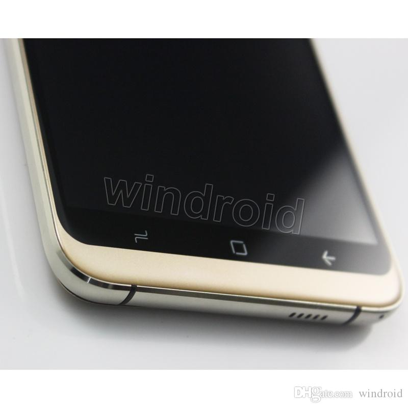 5,5 pollici S8 Smart Phone MTK6580 Quad Core Dual SIM 3G sbloccato 1G 8 GB 512 MB 4 GB Smart cellulare Android 6.0 Smart Wake DHL 10 pezzi