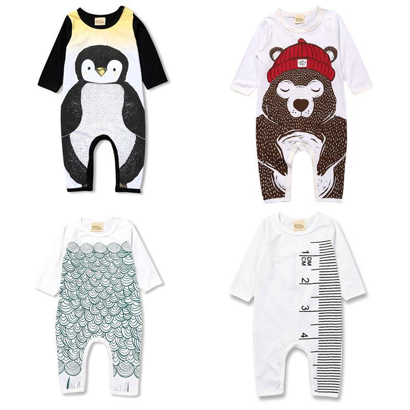 2019 Baby Toddlers Rompers Bodysuits Jumpsuits For Infants Kids 100