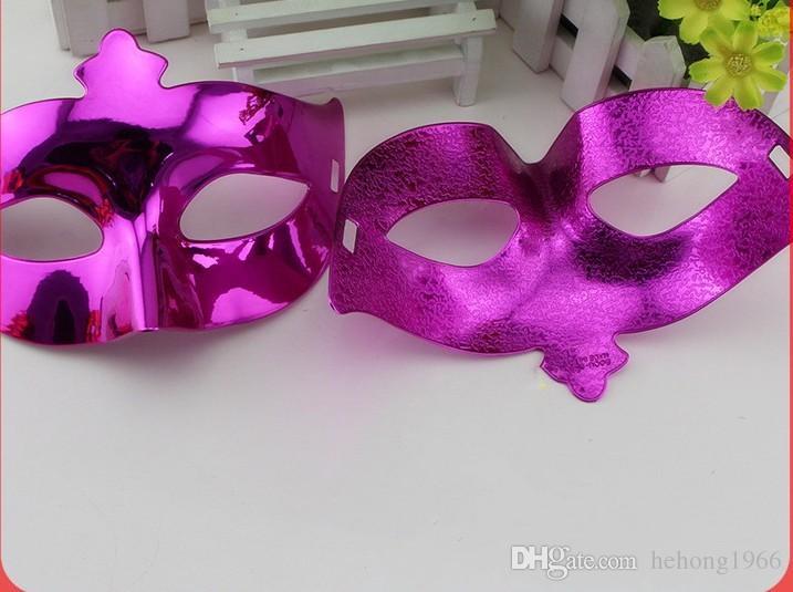 Máscaras de fiesta de disfraces Máscara de Halloween Vizardmask Media cara Pintura de glyptostrobus Apoyos de rendimiento Nightclub Venetian Hot Sale 0 8ob