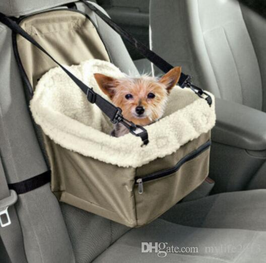2018 Pet Dog Puppy Cat Car Carrier Soft Kitty Booster Seat Leash Bag From Mylife2013 1379